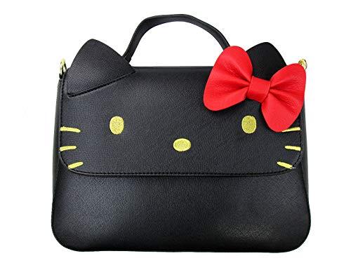 LGFLY - Bolso Bandolera Hello Kitty con lazo