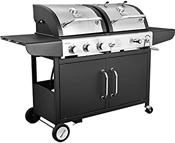 Royal Gourmet 3-Burner Cabinet Gas Grill and Charcoal Grill Combo