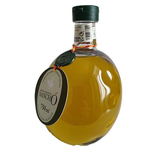 Aroma & Tradition Sancho – Aceite de Oliva Virgen Extra Arbequina 100% Obtenido en Frío - AOVE en Botella PET 750 ml - Formato Ideal para Utilizar en Casa
