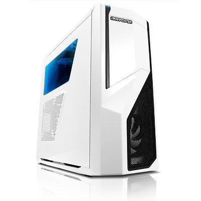iBUYPOWER Phantom i5 Gamer PC - Intel i5-4690 - 8GB DDR3/1866MHz - NVIDIA GeForce GTX 970 MSI Gaming 4G (Weiß)