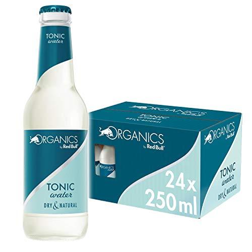 Red Bull Organics Tonic Water 24 x 250 ml Glasflaschen Bio Getränke, 24er Palette