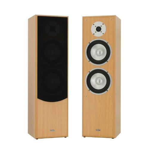 mohr 1 Paar Standlautsprecher SL10 Buche, Lautsprecherboxen, HiFi Klang zum günstigen Preis