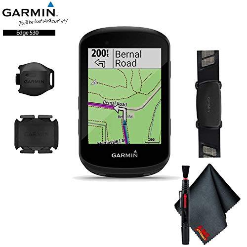Garmin Edge 530 GPS Cycling Computer (Sensor Bundle) Base Accessory Kit