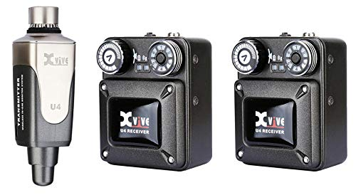 XVive U4 In-Ear Monitor Wireless System Bundle II