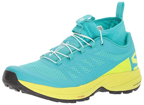 Salomon XA Enduro W, Zapatillas de Trail Running para Mujer, (Ceramic/Lime Punch./Black), 39 1/3 EU