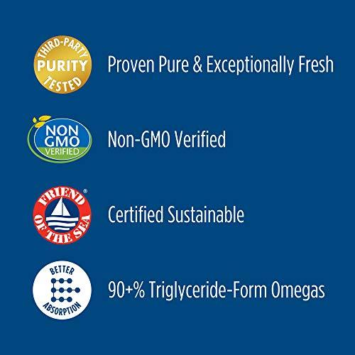 Nordic Naturals Ultimate Omega, sabor a limón, 1280 mg Omega-3, 90 geles blandos, suplemento de aceite de pescado Omega-3 de alta potencia con EPA y DHA, promueve la salud cerebral y cardíaca, sin OMG, 45 porciones