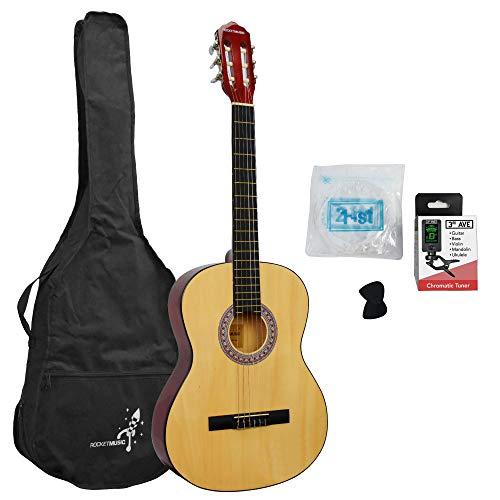 Rocket CG44PACK - Paquete de guitarra clásica