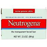 Neutrogena Acne Prone Skin Formula Facial Bar 3.50 oz (Pack of 4)
