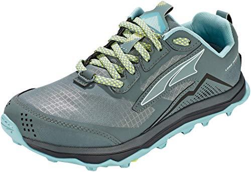 ALTRA AL0A4VR7 Women's Lone Peak 5 Trail Running Shoe, Balsam Green - 7.5 M US