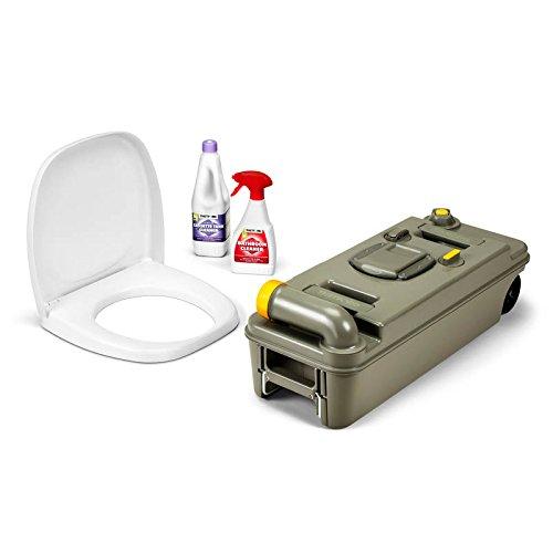 Thetford toilet freh-up set C2 C3 C4 cassete recambio con ruedas autocaravana