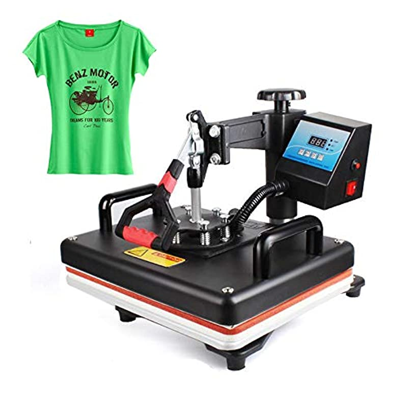 ハドル王族コミット12x15インチ熱プレス機Tシャツ印刷機デジタルスイング29x38 CM熱伝達昇華プリンター布DIY