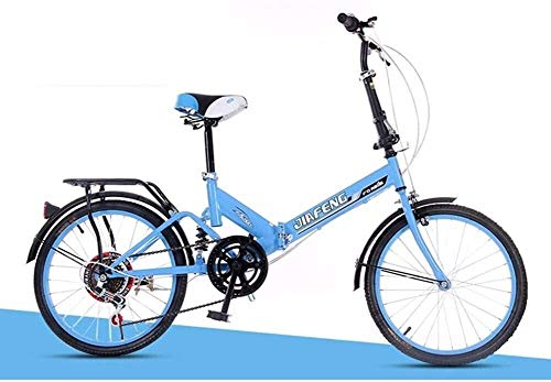 PARTAS Travel Convenience Commute - Inches Variable Speed Foldable Bicycle Damping Bicycle Adult Men and Women Student Car,Suitable for Advanced Riders and Beginners