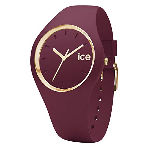 Ice-Watch - ICE glam forest Anemone - Montre rouge pour femme avec bracelet en...