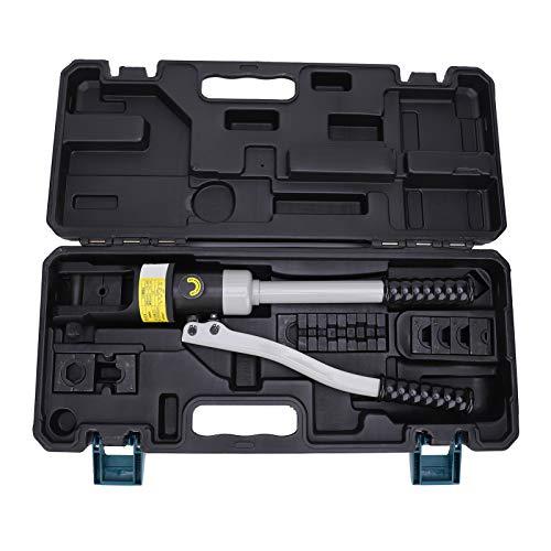 Herramienta engarzadora hidráulica, Engarzadora de cables hidráulica, 16-240 mm² de alta...