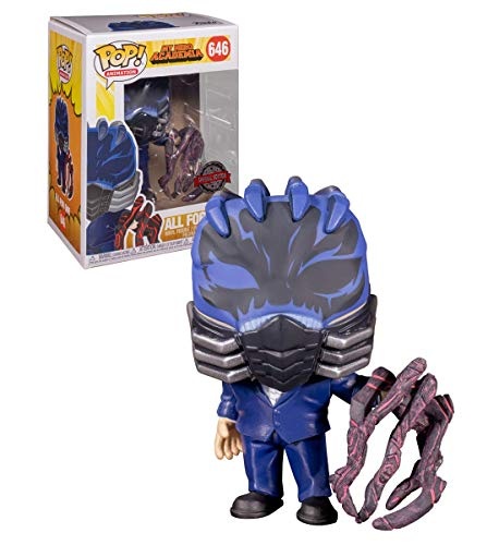 Bambola Funko Pop! My Hero Academia All for One Battle Hand Exclusive BAC Pop! con adesivo BAC