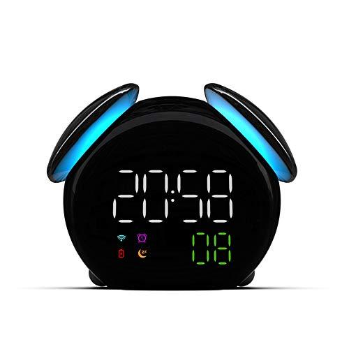 HGA Reloj Despertador LED, Toma Que funcione, no Hay lujos operación Simple, Grande luz de la Noche, Alarma, Repetir, la Gama Completa de Brillo Dimmer