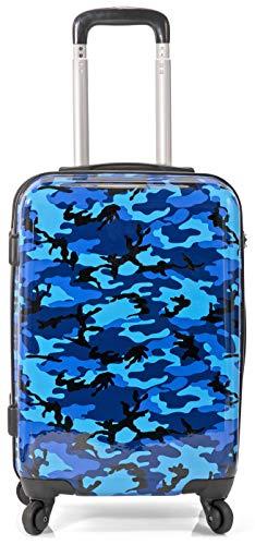 BENZI Maleta de Cabina, PC, Camuflaje 36x55x22cm (Camuflaje Azul)