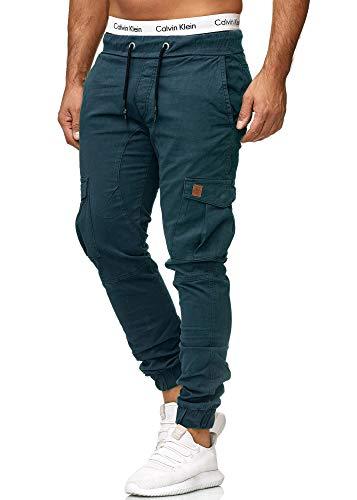OneRedox Herren Chino Pants | Jeans | Skinny Fit | Modell 3301 (34/32 (Fällt eine Nummer Kleiner aus), Navy)