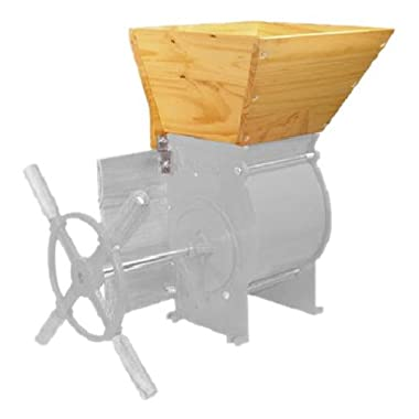 Weston Apple and Fruit Hopper Accessory for Fruit and Wine Press (05-0301), Fits Weston Apple & Fruit Crusher (05-0201)