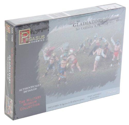 Pegasus PG7100 Figurine de gladiateurs 1/72