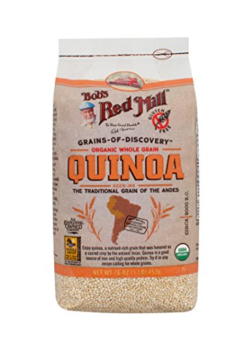 Bob's Red Mill Organic Whole Grain Quinoa, 16 Ounce