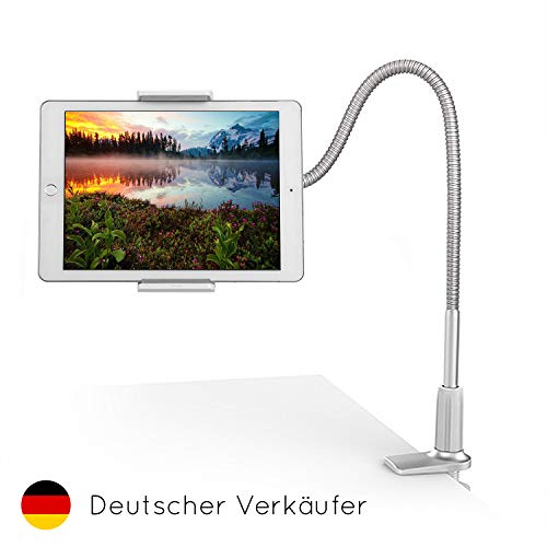 FLEXD-X Hochwertige Schwanenhals Tablet Halterung Bett Tablet Halter Tisch Handy-Halterung Tablet Ständer