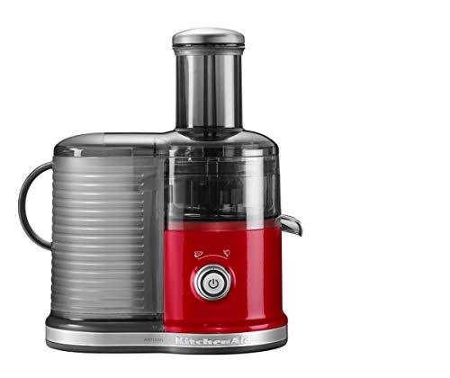 KitchenAid 5KVJ0332EER 5KVJ0332 Schneller Zentrifugal‑Entsafter-Empire rot, Metall, Kunststoff