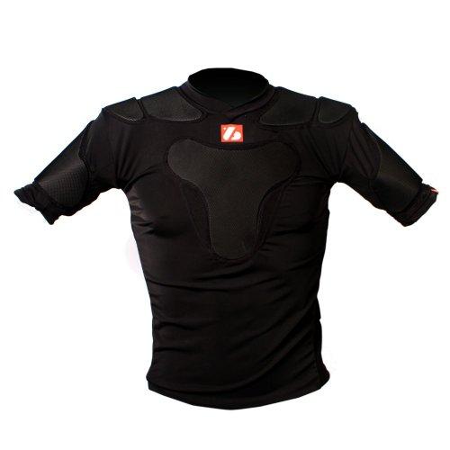 BARNETT Rugby Shoulder pad pro RSP-PRO 5, Size M Black