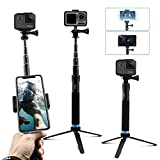AFAITH Upgraded Pole for GoPro, Aluminum Alloy...