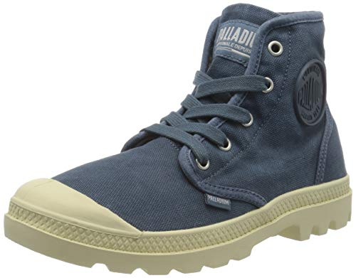 Palladium Damen Us Pampa Hi F Hohe Sneaker, Blau (Blue Denim U67), 41 EU