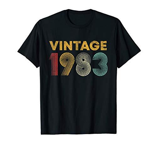 37. Geburtstags Geschenk Jahrgang Retro Vintage 1983 T-Shirt