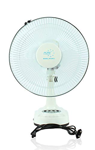 Akari Ak-8012 12' Rechargeable Ac/Dc Table Fan with...