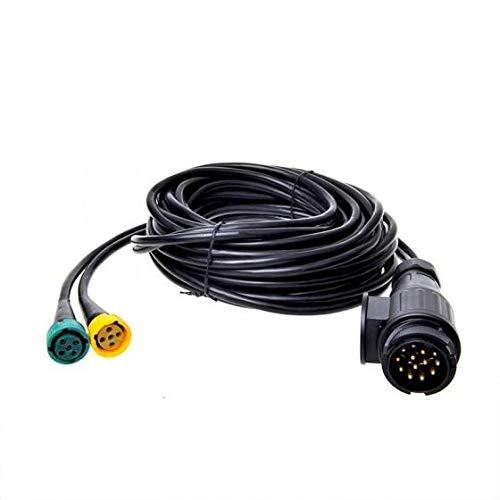 APT Kabelsatz 7m Stecker 13-polig Anhängerkabel Anhänger Kabelbaum Rückleuchten PKW