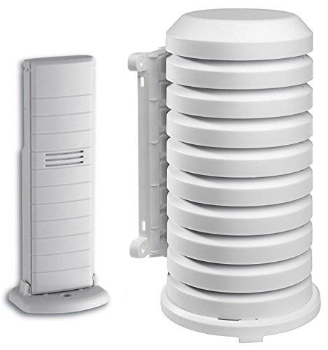 Funk-Außensensor mit Wetterschutzgehäuse TFA 30.3156.WD + TFA 98.1114.02 Temperatur Ersatzsender