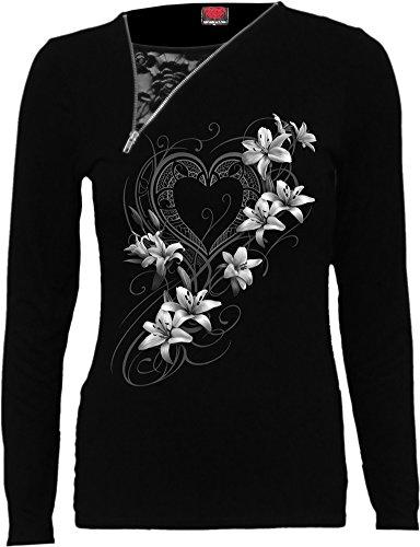 Spiral Pure of Heart Girl-Longsleeve schwarz S