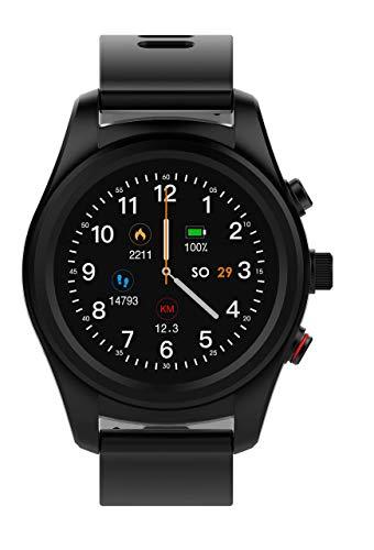 Swisstone SW 750 Pro - Smart Wearable mit Herzfrequenzmessung und GPS Activity Tracker - schwarz