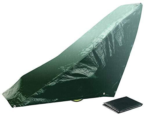 Royal Gardineer Rasenmäher Schutzhülle: Gewebe-Abdeckplane für Rasenmäher, 97 x 103 x 50 cm, 150 g/m² (Rasenmäher Winter Planen)