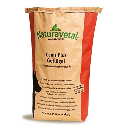 Naturavetal Canis Plus Gefl?gel 15kg