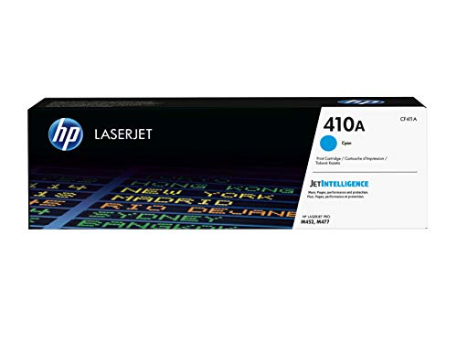 HP 410A CF411A, Originele Toner, Voor HP Color Laserjet Pro M452, HP Color Laserjet Pro M477, Cyaan