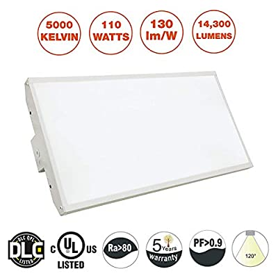 Goodbulb 2' or 4' LED Linear High Bay Light Fixture, AC100-227V, Dimmable, 5000K, DLC 4.0 Certified, Industrial Lighting
