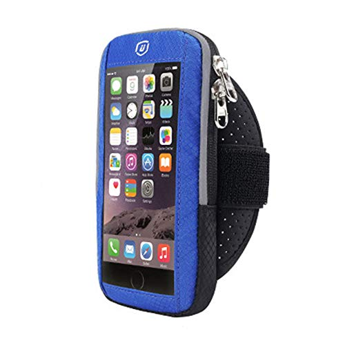 Touch Screen Sport mobiele telefoon Armband Case, voor iPhone X 6 6S 7 8 Plus Xiaomi Redmi 5 Plus Huawei Brassard Arm Band Cover