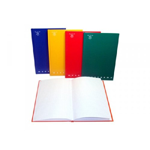 Pigna Cartonato (A5) Rigatura 5M Quadretti 5Mm 120 Pagine Quaderni, Multicolore, 8005235155862