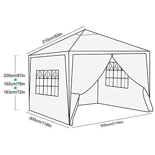 Homdox Canopy 3 x 3 m