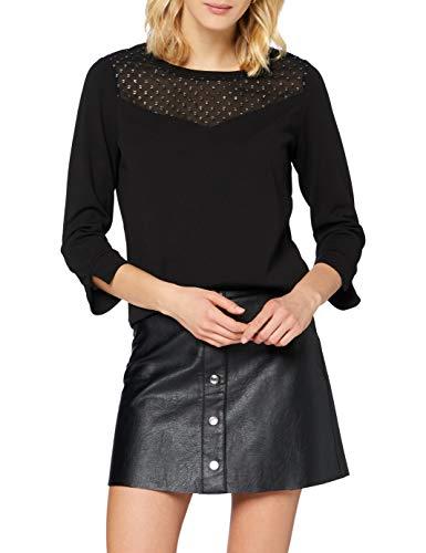 Garcia Damen V00207 Bluse, Black, S