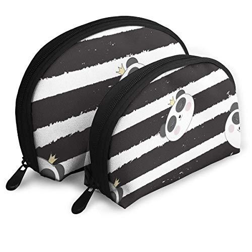 Little Cute Portable Bags Pochette Pochette Portamonete Borsa da viaggio cosmetica One-Big e One-Small 2Pcs Cancelleria Matita Borsa multifunzione Portafoglio per bambini Portachiavi Borsa