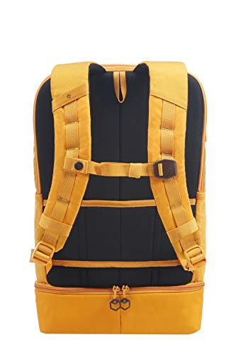 Samsonite Hexa-Packs - Laptop Backpack Large - Travel Rucksack, 50 cm, 22 Liter, Dark Yellow