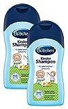 Bübchen Kinder Shampoo, sensitives Haarshampoo für zarte Babyhaut, mit natürlicher Kamille und Weizenprotein, Menge: 1 x 400 ml
