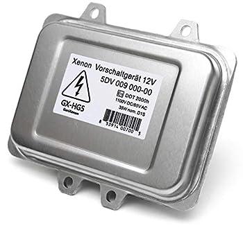 Replacement 5DV 009 000-00 Xenon HID Ballast Headlight Control Unit Module for BMW Mercedes Cadillac Jaguar Volkswagen Lincoln Saab Hyundai - Warranty