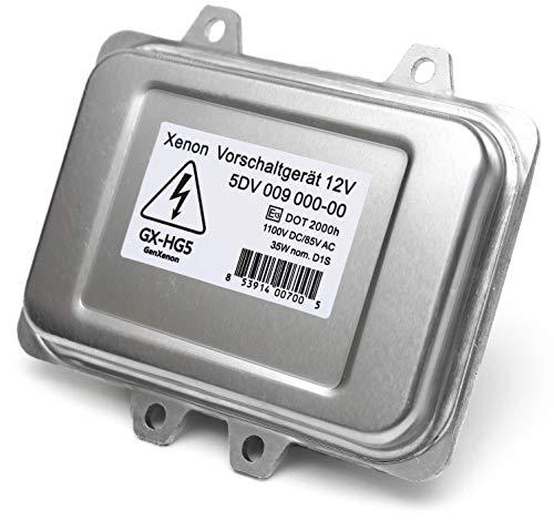 Replacement 5DV 009 000-00 Xenon HID Ballast Headlight Control Unit Module for BMW, Mercedes, Cadillac, Jaguar, Volkswagen, Lincoln, Saab, Hyundai - Warranty
