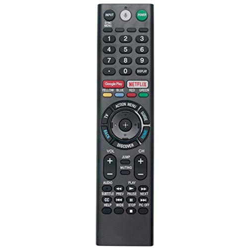 RMF-TX200U Voice Replacement Remote Applicable for Sony TV XBR-65X930D XBR-75X940D XBR-65X900E XBR-75X900E XBR-65X930E XBR-75X940E XBR-43X800D XBR-49X800D XBR-65X850D XBR-75X850D XBR-55X850D